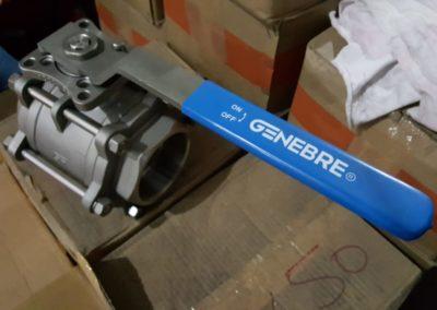 Vanne Genebre Inox 3pc